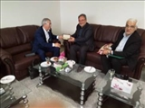 Dr. Hamlet Isakhanli Visited the University of Maragheh