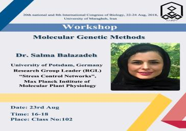 Special Speech in the university of Maragheh, Maragheh, Iran. Dr. Salma Balazadeh, University of Potsdam, Germany.
